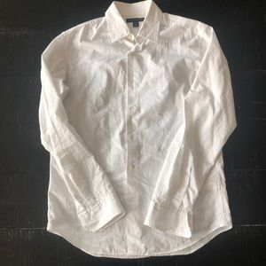 Banana Republic Soft Wash Button Up Casual Shirt